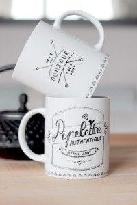 tasse-porcelaine-personnalisée-mug-diy-bonjour