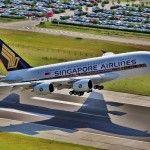Singapore Airlines' first Premium Economy departs Sydney