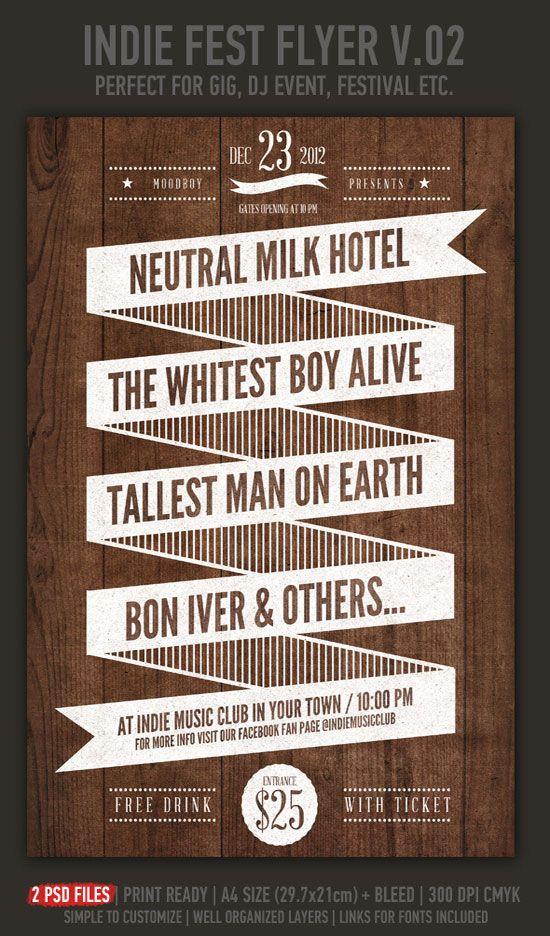 8 best cabaret flyers images on pinterest | flyer template, print, Presentation templates