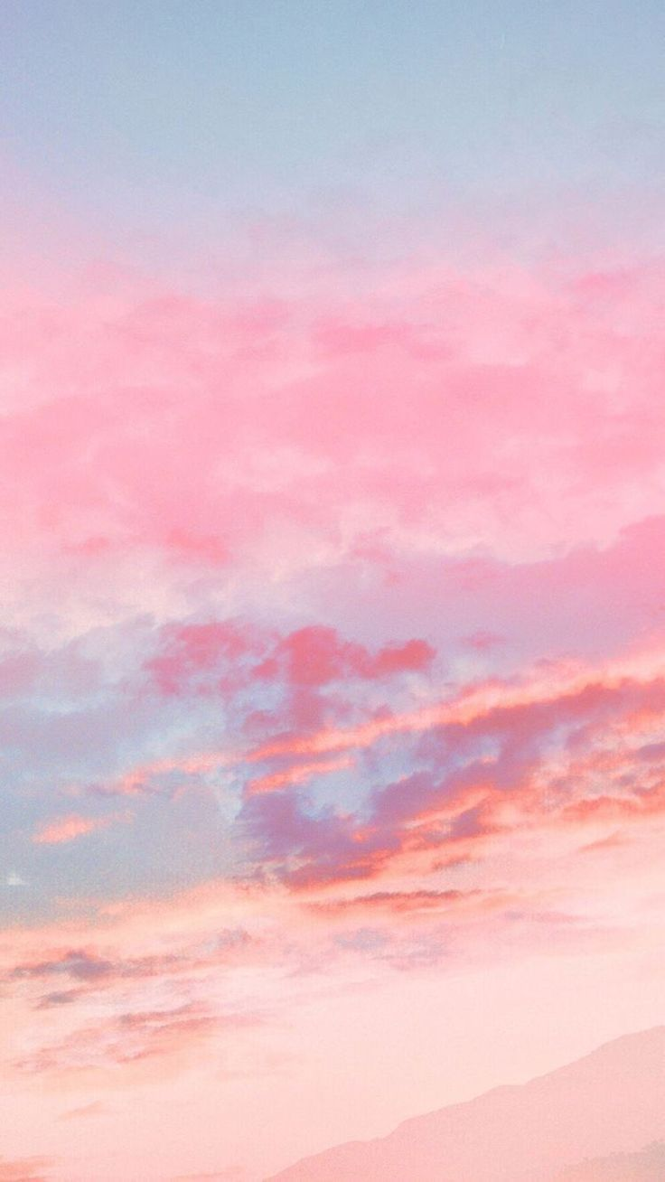 Pink And Blue On Twitter Pink Wallpaper Iphone Pink Clouds Wallpaper Pink Sky