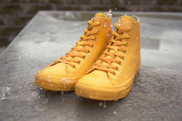 Converse cria calçados monocromáticos impermeáveis | Notícias | Assintecal