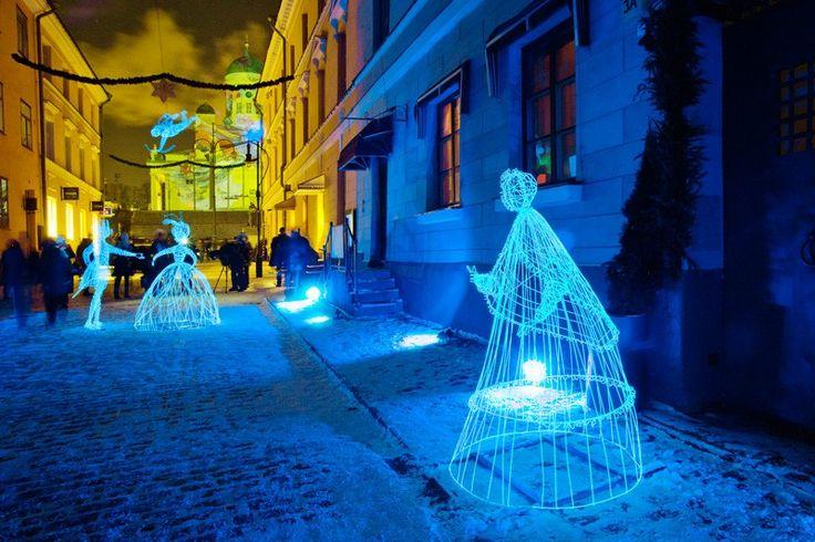 6.January2018-10.January2018 LUX Light Festival in Helsinki