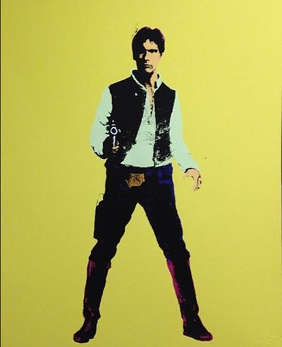 Han - Yellow (Giclee and Silkscreen Signed Limited Edition of 10) by RYCA