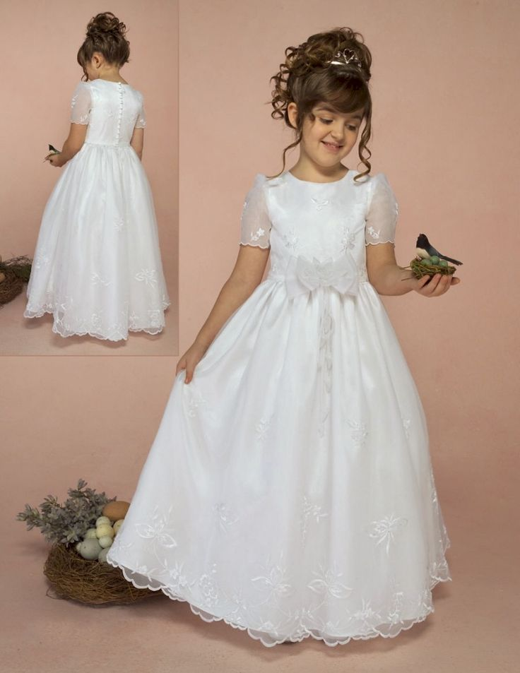 17 Best images about Weddings-----Pretty Flower Girls Dress on ...