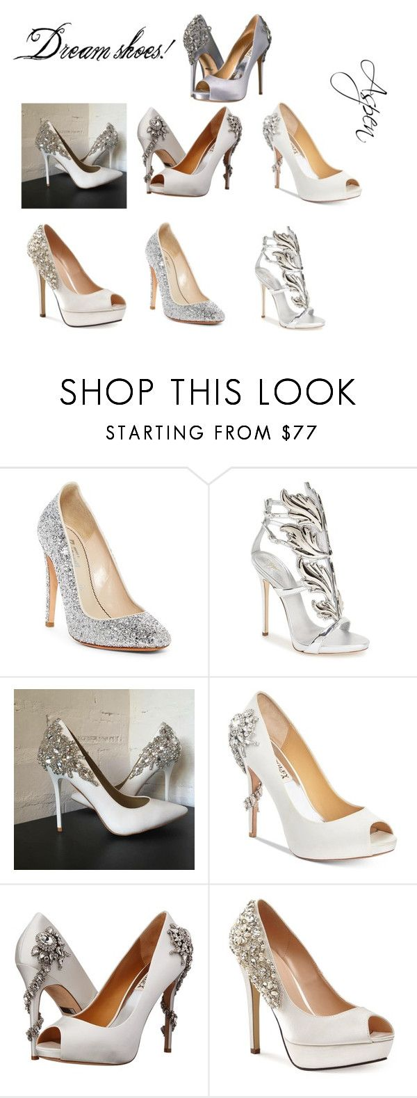 """""""My Dream Shoes"""" by aspen-arent on Polyvore featuring Jerome C. Rousseau, Giuseppe Zanotti, Badgley Mischka and Pink Paradox London"""