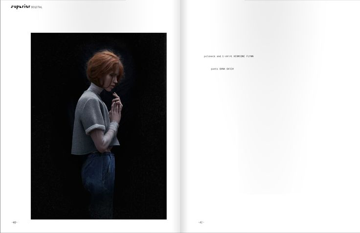 // ANTI-ANTIPODES in Superior Mag featuring OVNA OVICH - Moonscape Pants