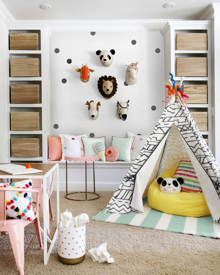 PillowFort Blogger Challenge – 3 very cute playrooms