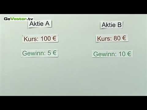 KGV: Berechnen Sie Ihr Kurs-Gewinn-Verhältnis