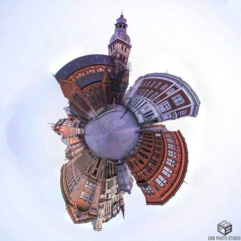 Amazing! Riga from a different perspective.