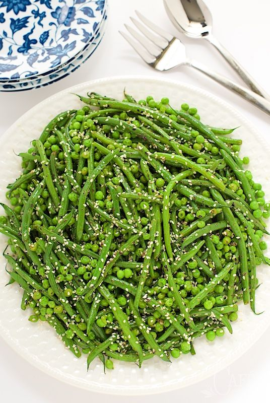 Sesame Ginger Green Beans - so easy and almost completely make ahead ...