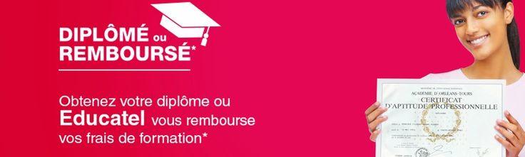 Educatel : soyez diplômé ou remboursé ! www.educatel.fr