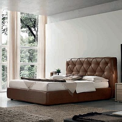 Contemporary, elegant 'Oasis' bed by Orme