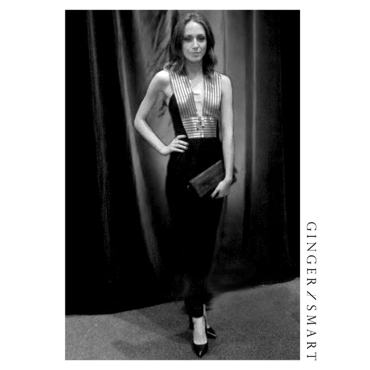 Isabella Giovinazzo wears the Anodize Jumpsuit