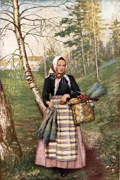 Young Finnish woman, ca. 1936 - Finland