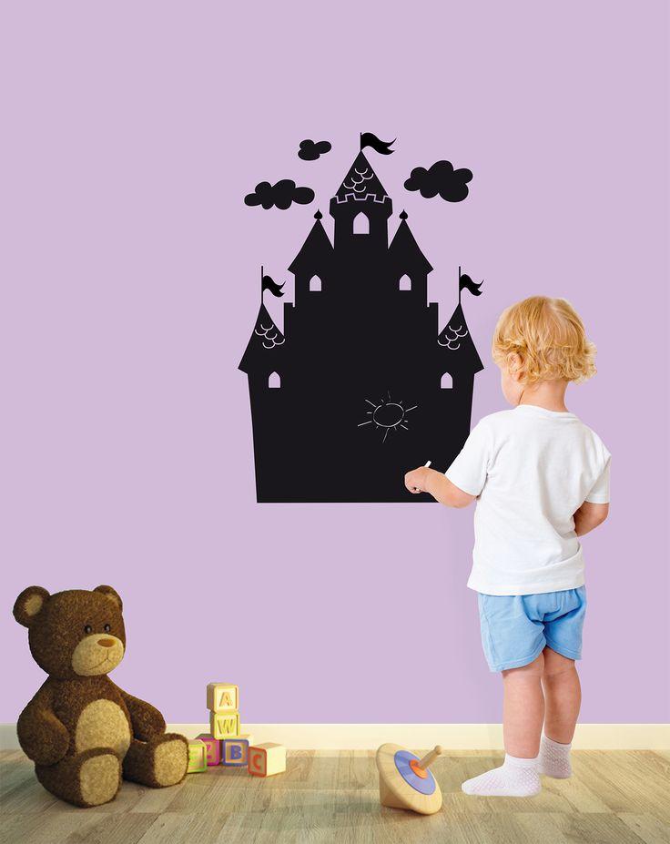 oltre 25 fantastiche idee su bambini lavagna pareti su pinterest ... - Idee Pittura Murale Per La Camera Dei Bambini