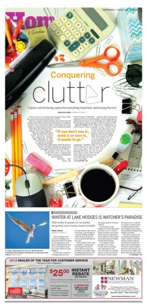 CONQUERING CLUTTER