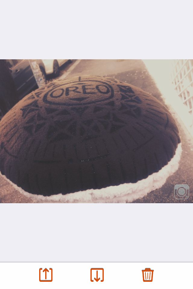 Lovely oreo cushion home-made❤
