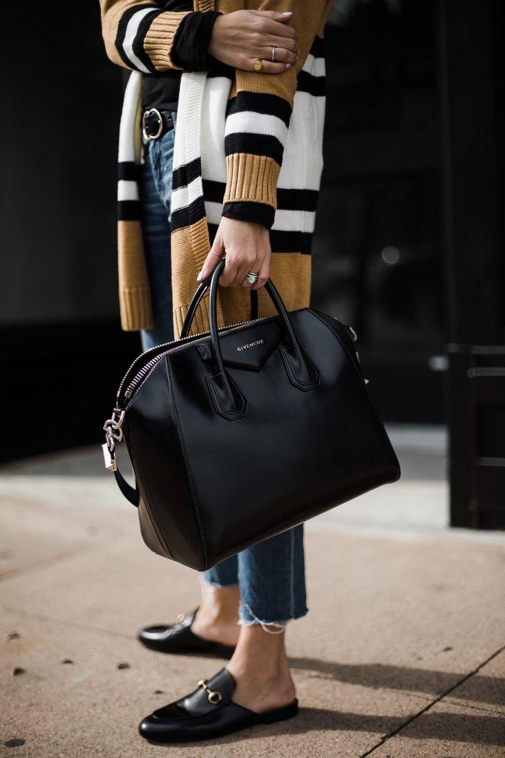 The Striped Cardigan Under $25 #styleblogger
