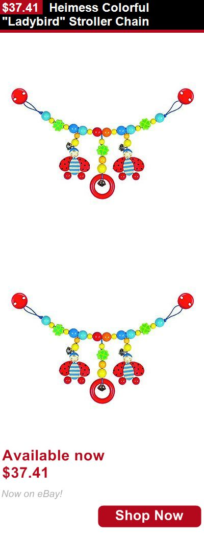 Pacifiers: Heimess Colorful Ladybird Stroller Chain BUY IT NOW ONLY: $37.41