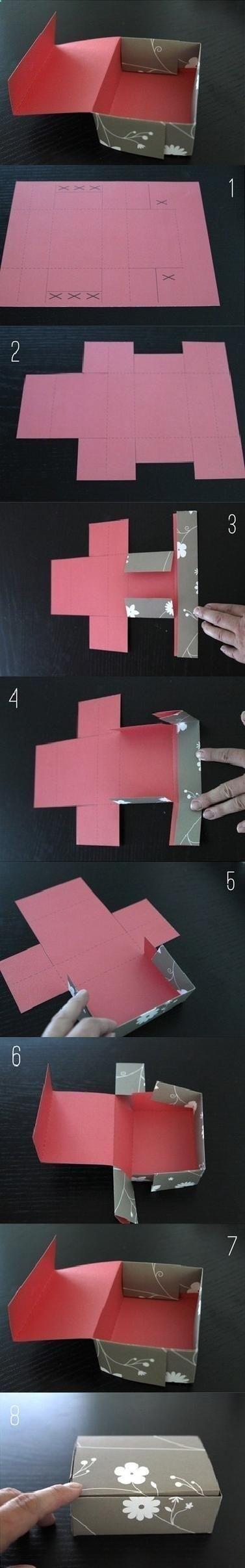 DIY Simple Gift Box DIY Simple Gift Box