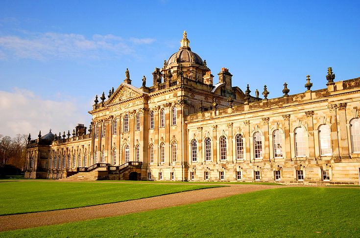 Castle Howard i England #castle #howard #castlehoward #england #slott