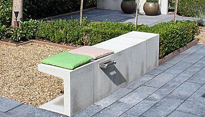 zelf betonnen bank maken - Google zoeken