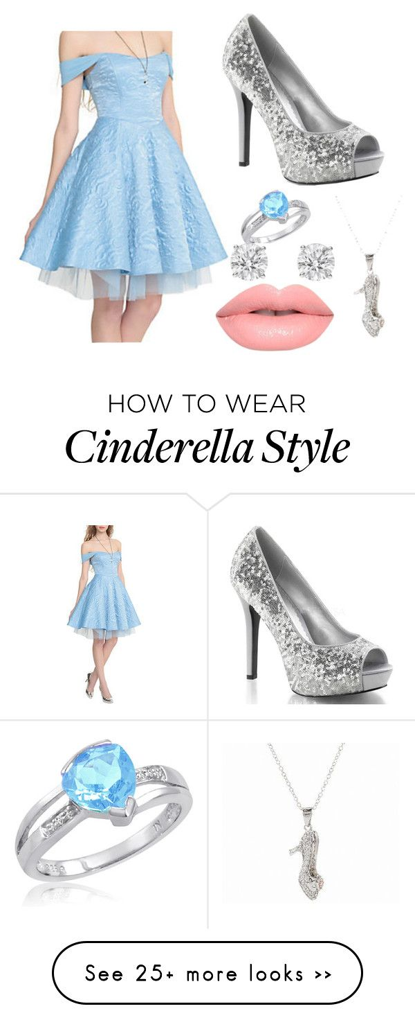 Cinderella outfit, possibly prom?