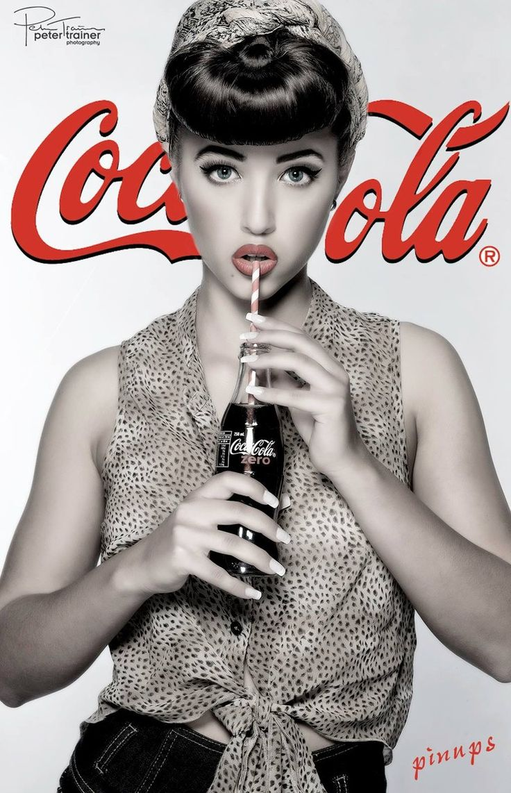 CocaCola pinup