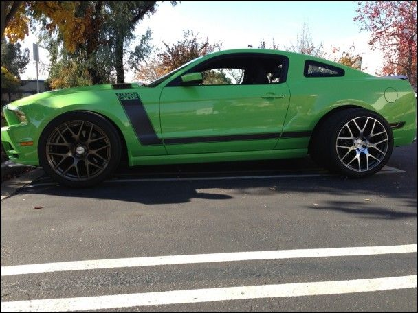 2013 Boss 302 Wheels