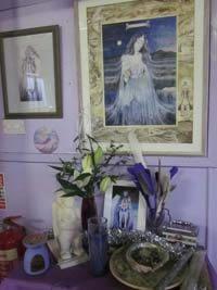 Goddess Hall interior