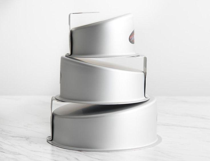 Fat Daddio's Mad Dadder Round Cake Pan Set - None
