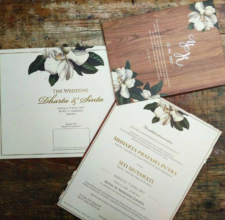 Keren banget contoh undangan pernikahan simple dan elegan
