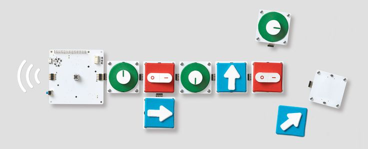 Google Project Bloks, A Tangible Programming Platform for Kids