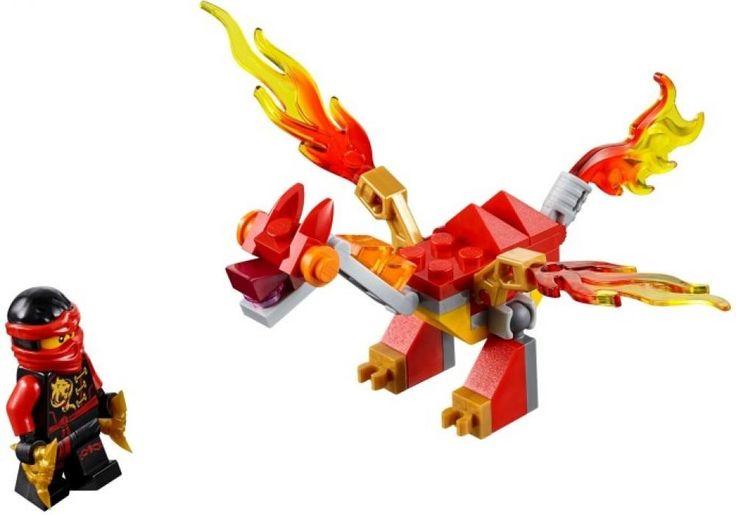 LEGO 30422-1 Kai's Mini Dragon (Ninjago 2016) | Rebrickable - Build with LEGO