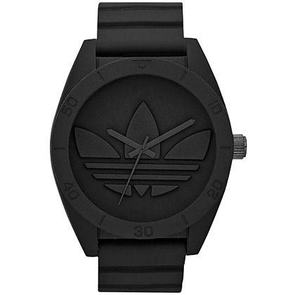 Ook zwarte accessoires kunnen mooi zijn ♥ klik hier voor een mooi zwart horloge van Adidas Originals ♥