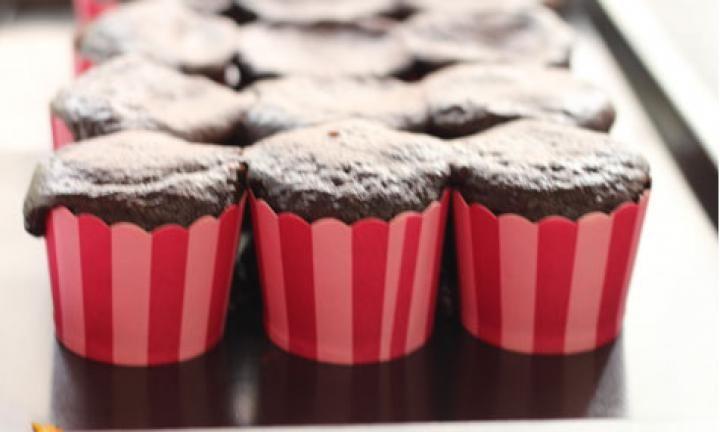 2 ingredient chocolate cupcakes