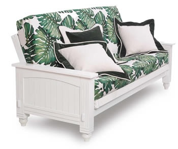 Love this futon frame