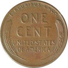 Reverse of 1959-D One Cent - Wheat Ears on Reverse
