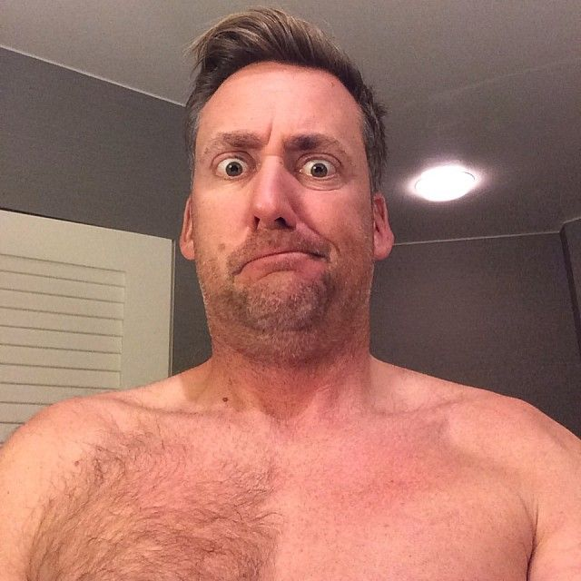"""Hashtag...itchy?  File this one under """"thanks for sharing.""""  Ian Poulter posts manscaping pictures on Instagram and Twitter."""