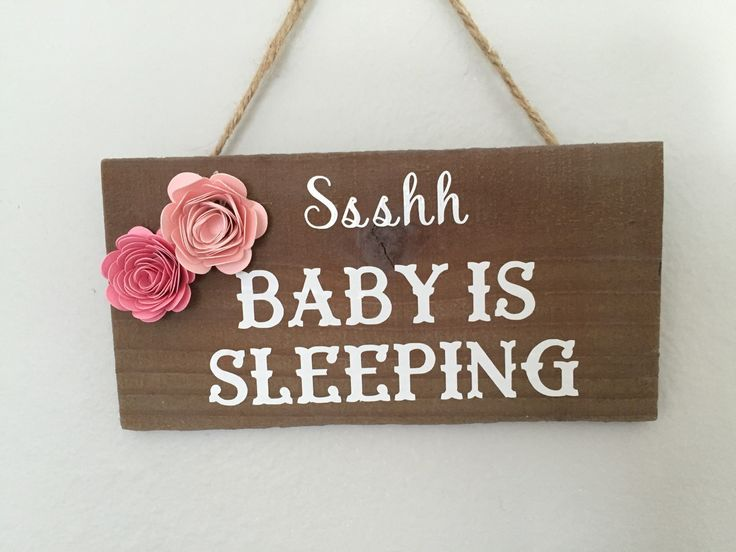 Baby sleep g wood sign. Order here. A personal favorite from my Etsy shop