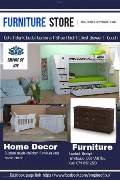 Childrens Furniture - Nursery & Kid's Room-Beds-Gauteng - https://babydorie.co.za/second-hand-kids-beds-2/childrens-furniture.html