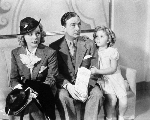 Alice Faye, Jack Haley and Shirley Temple in Poor Little Rich Girl, 1936.