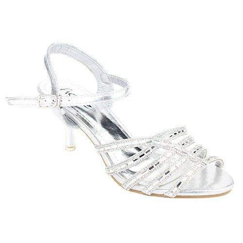 Aarz Frauen-Dame- Abend-Party- Hochzeit Braut High Heel Diamante Sandelholz -Schuh-Größe (Gold , Silber, Champagner ) - http://on-line-kaufen.de/aarz-london/36-eu-aarz-frauen-dame-abend-party-hochzeit-braut