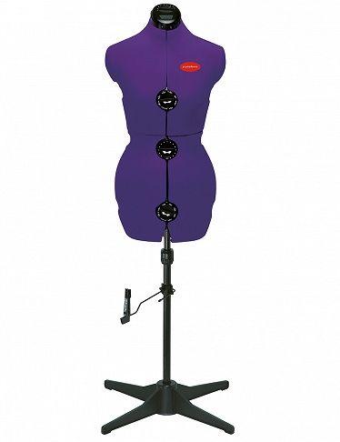 Mannequin de couture réglable, tailles 36 à 42