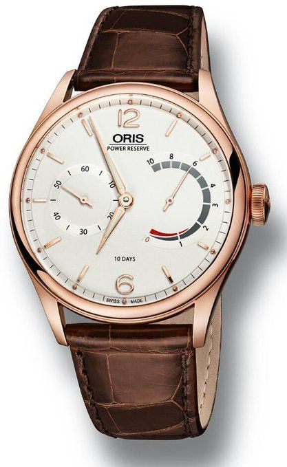 Reloj hombre R. ORIS CAL. 110 OR ROSA LIM 74/110 OR11077006081SET