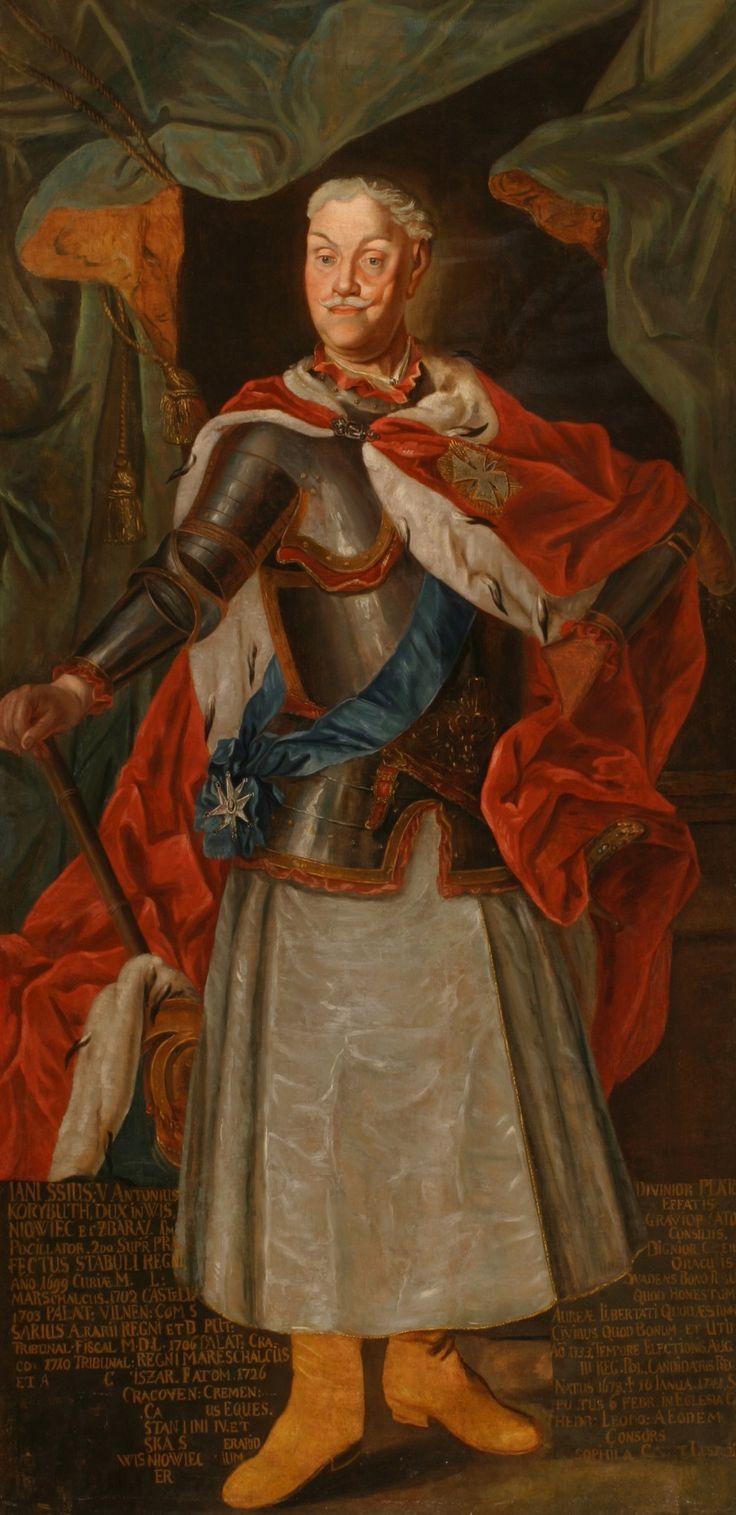 Portrait of Janusz Antoni Wiśniowiecki (1678–1741)