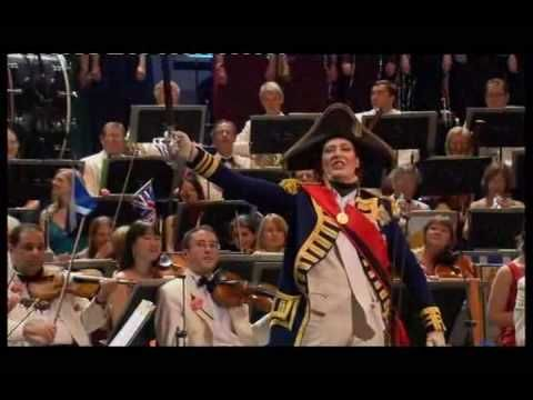 Rule Britannia - Last Night of the Proms 2009 Britons never, never shall be slaves!!