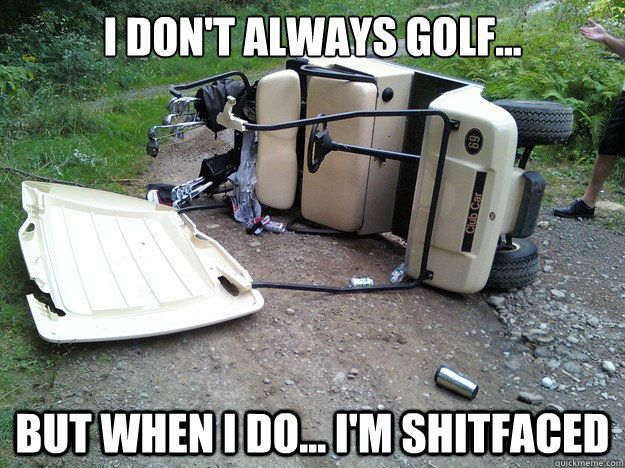 Looking for some of the best funny golf memes online? Slapwank are happy to show you the very best of the best golf memes. Take a walk to the 19th hole.