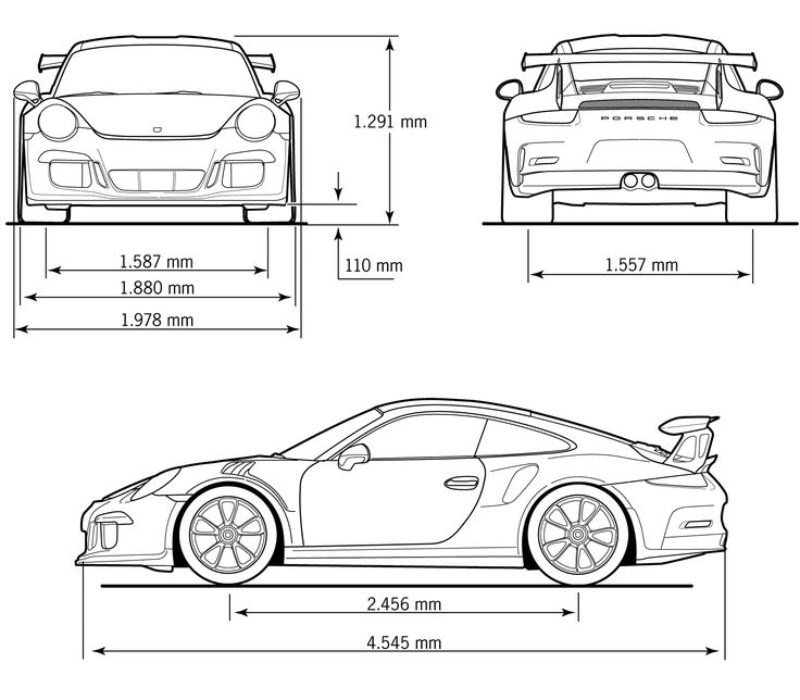 1466 best car sketches images on pinterest cars car sketch and porsche 911 gt3 rs blueprint malvernweather Image collections