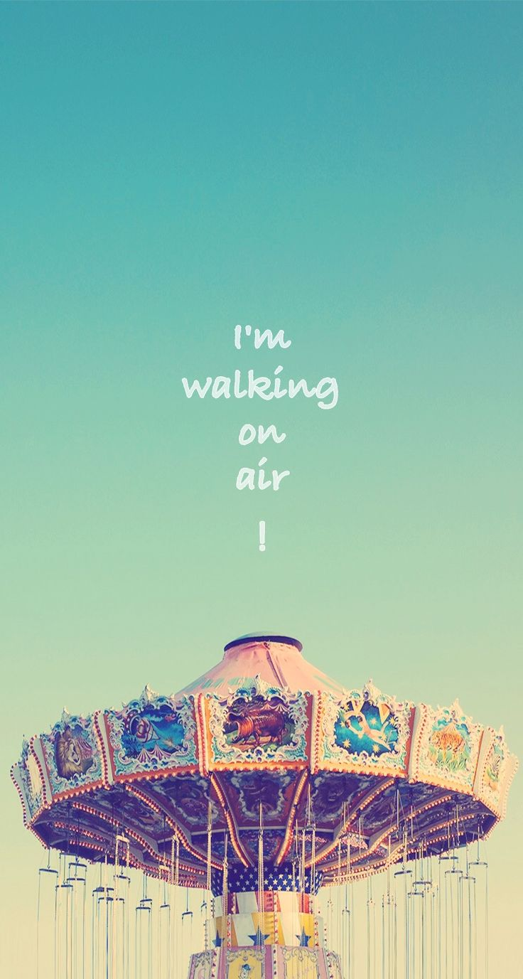 I'm walking on the air - #quotes iPhone wallpaper @mobile9